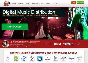 como divulgar música na internet emu bands